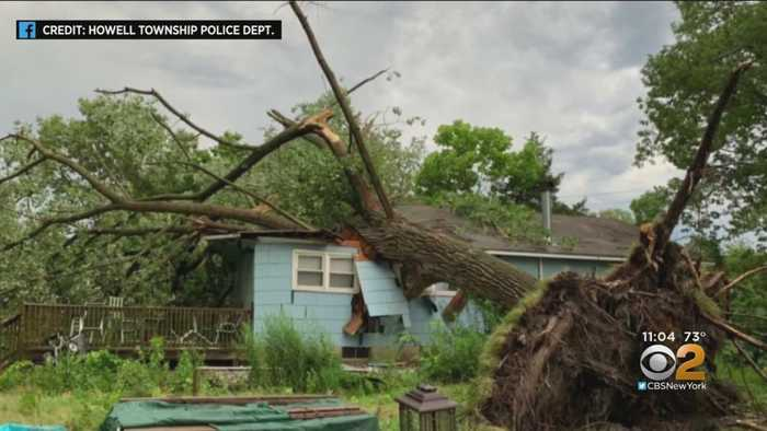 Storms Slam Tri-State Area
