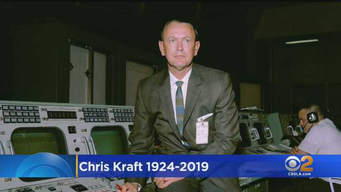 Chris Kraft, First Flight Director For NASA, Dies At 95
