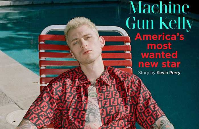 Machine Gun Kelly walked away from bus accident