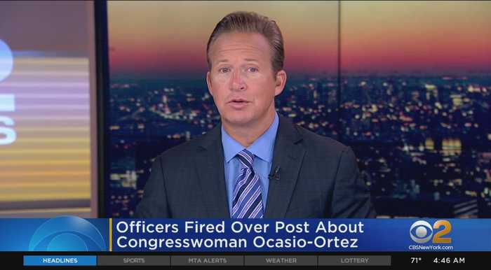 Officers Fired Over AOC Post