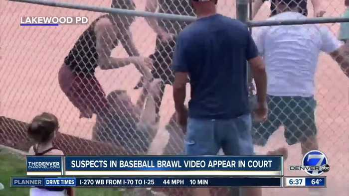 Suspects in Lakewood baseball brawl video appear in court