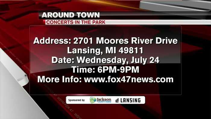 Around Town 7/23/19: Concerts in the Park