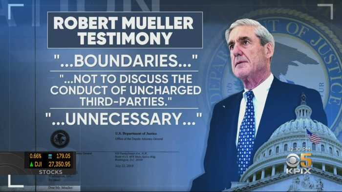 Democrats And Republicans Prepare For Muller Testimony Wednesday Morning