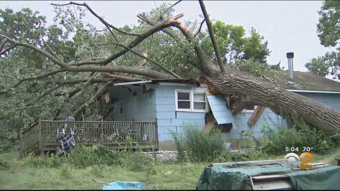 Thousands Without Power In New Jersey After Storms