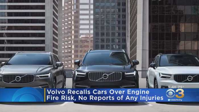 Volvo Recalls Nearly 500,000 Cars Over Risk Of Engine Fires