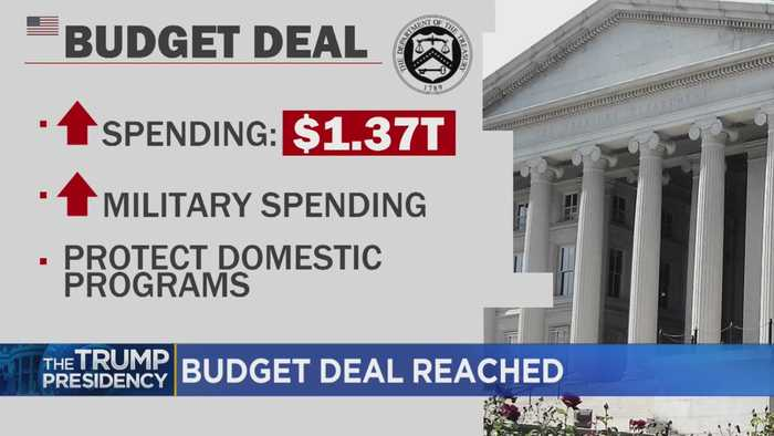 Trump, Democrats Reach Budget Deal