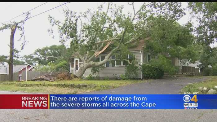 'Never Seen Anything Like It': Mashpee Hammered By Storm