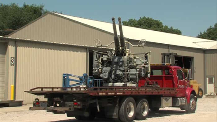A World War II-era piece of war history finds a new home in Terre Haute