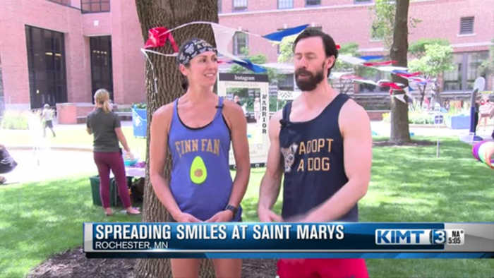 Spreading Smiles at St Marys