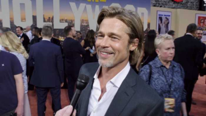 'Once Upon A Time In Hollywood' Premiere: Brad Pitt