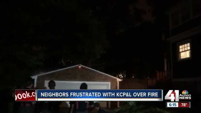 Neighbors frustrated with KCP&L over fire