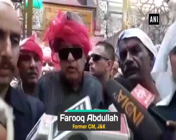Its a matter of happiness Farooq Abdullah on President Trump claims on Kashmir mediation