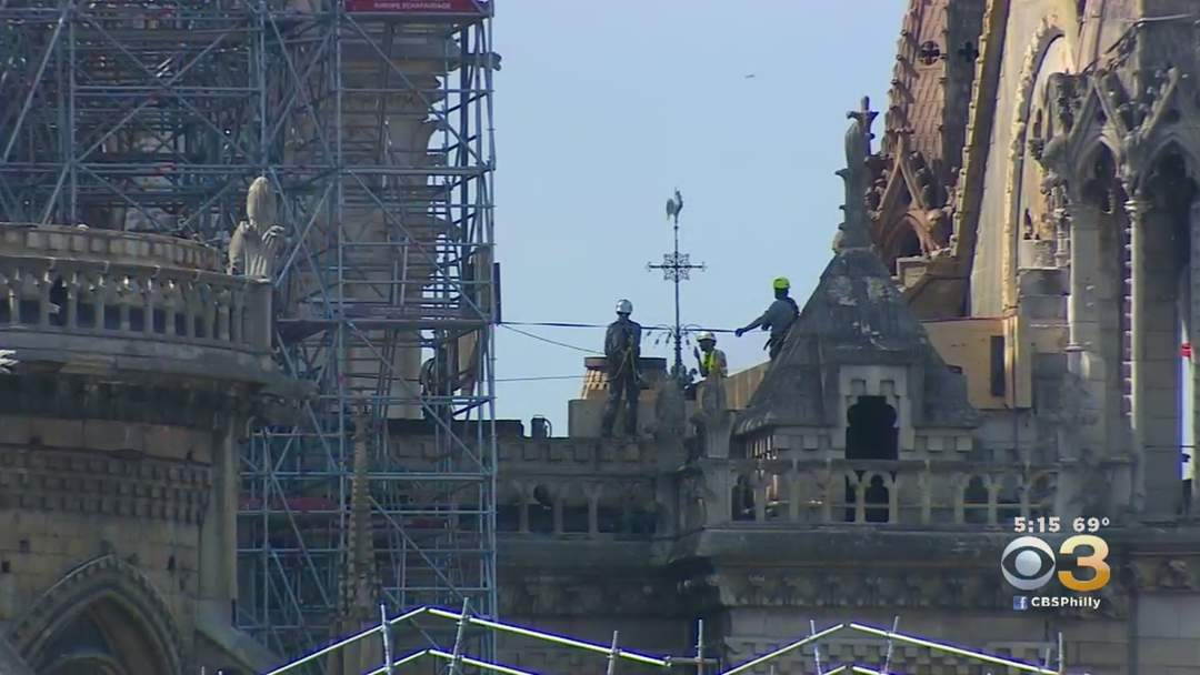 Recording-Breaking Heat Could Cause Notre Dame Cathedral's Roof, Walls To Collapse
