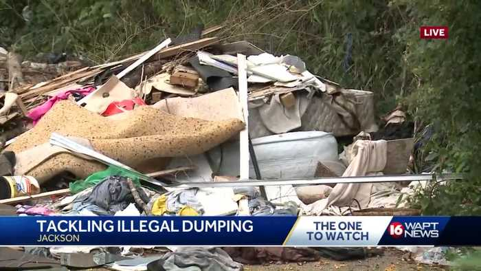 City of Jackson cracking down on illegal dumping