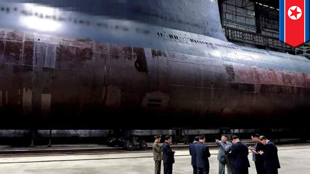 North Korea reveals new ballistic missile submarine