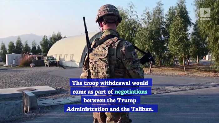 US Is Preparing Withdrawal of Thousands of Troops From Afghanistan