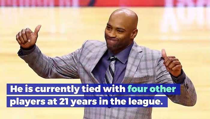 Vince Carter Becomes Longest Tenured Player in NBA History