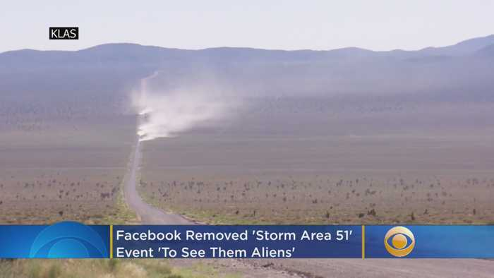 Alien Stock being planned after Storm Area 51 - One News Page VIDEO