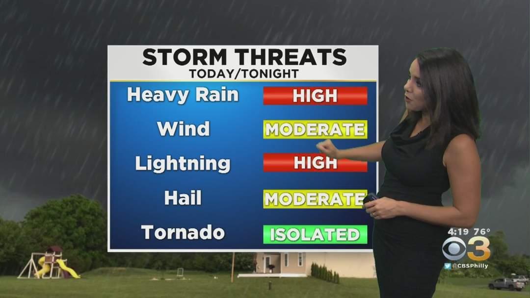 Philadelphia Weather: Severe Thunderstorm Watch