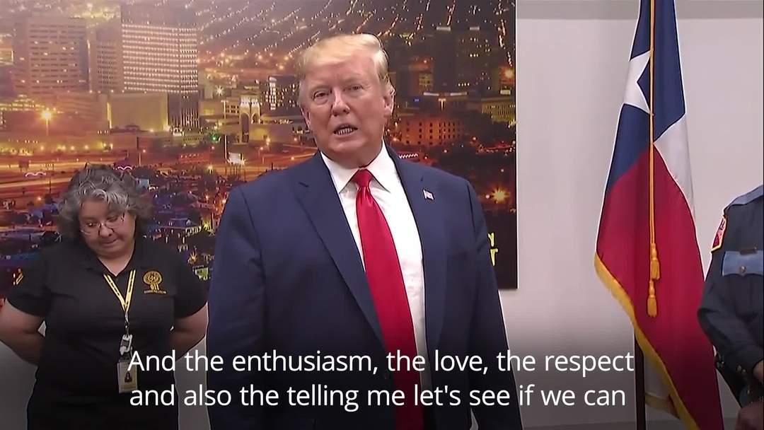 Trump visits Dayton and El Paso after mass shootings