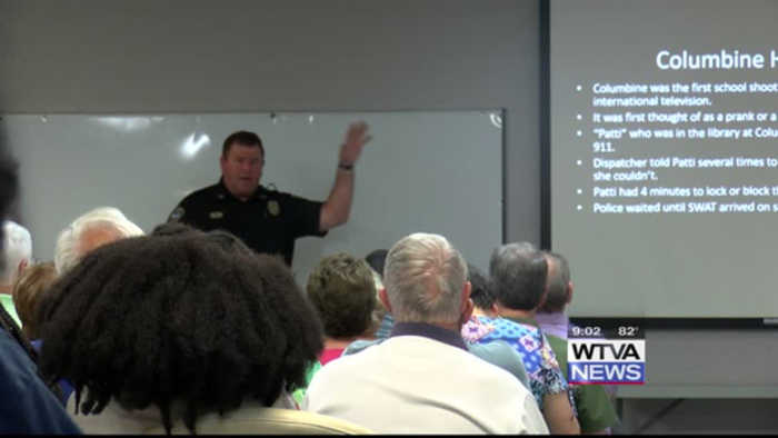 Oxford Police host active shooter training