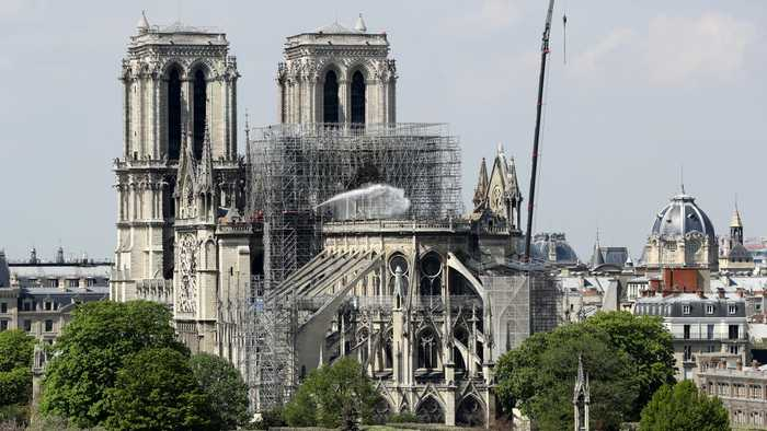 Paris Closes Streets Near Notre Dame For Lead Cleanup