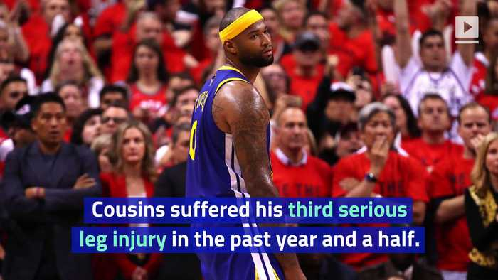 DeMarcus Cousins Could Miss Season With Torn ACL
