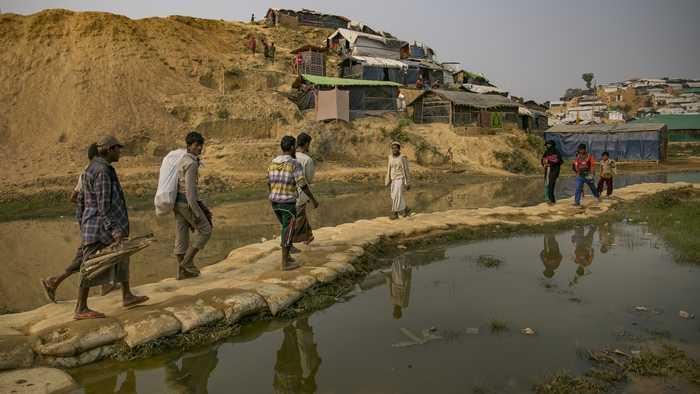 Some Rohingya Refugees May Return To Myanmar Next Week
