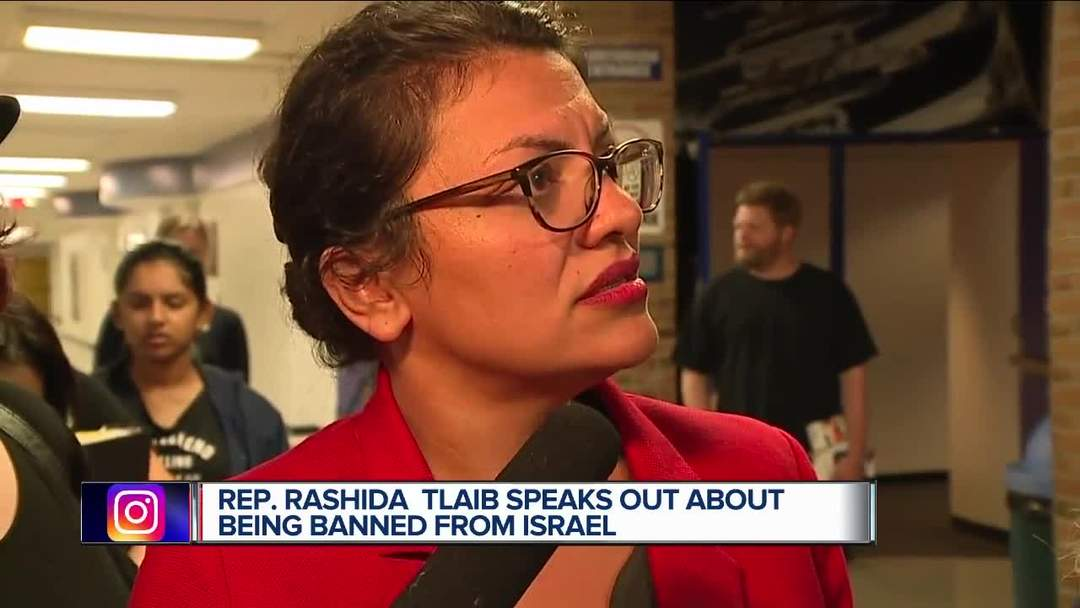Rep. Rashida Tlaib speaks out about being banned from Israel