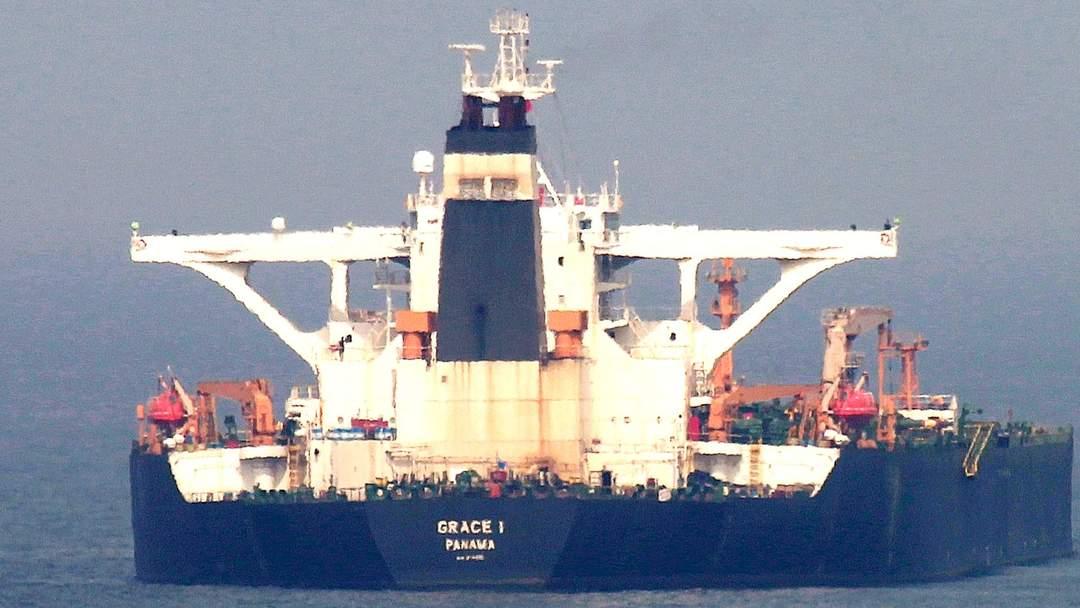 Gibraltar court releases seized Iranian oil tanker