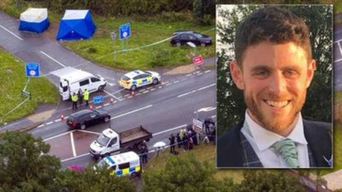 Murdered police officer was 'dragged by a vehicle' as he responded to burglary