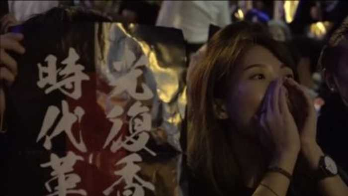 All eyes on the Hong Kong protesters