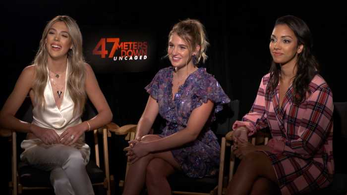 Corinne Foxx, Sistine Stallone On '47 Meters Down: Uncaged'