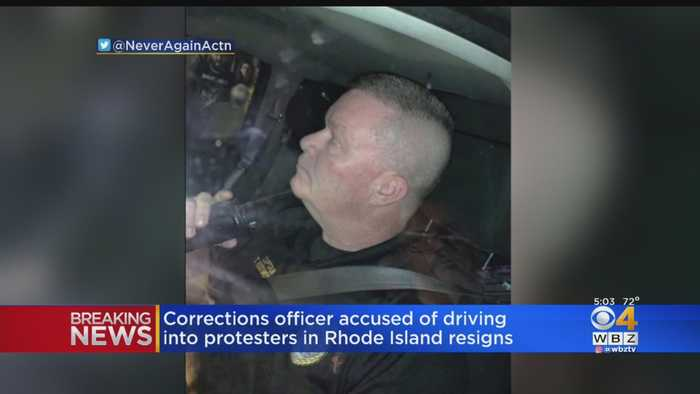 Captain Resigns After Truck Drives At Protesters Outside Rhode Island Immigration Facility
