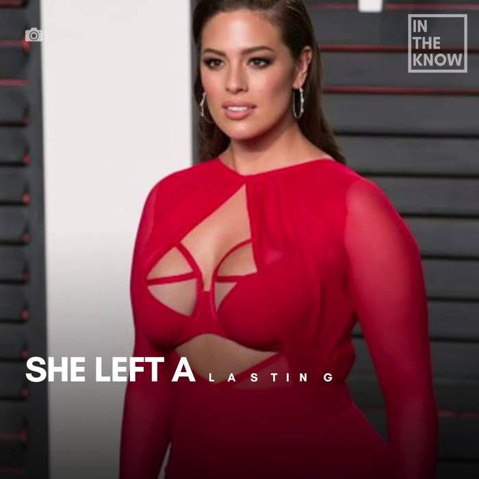 A look at Ashley Graham's breakthrough fashion moments