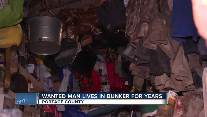 Wanted man lived in a bunker in central Wisconsin for years