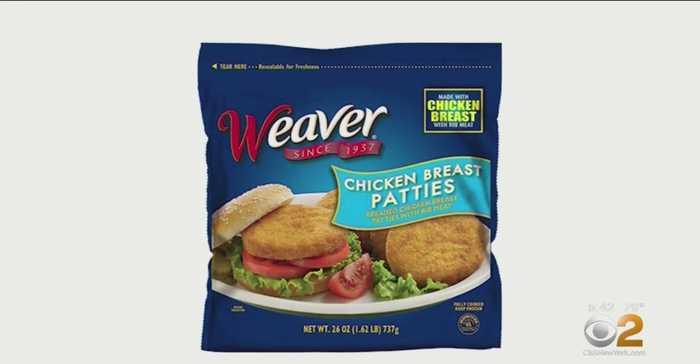 Tyson Recalls 39,000 Pounds Of Weaver Chicken