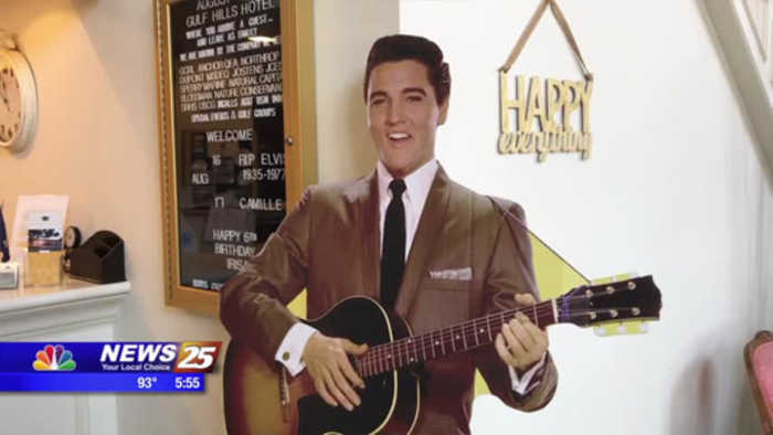 Elvis and the Gulf Hills Hotel