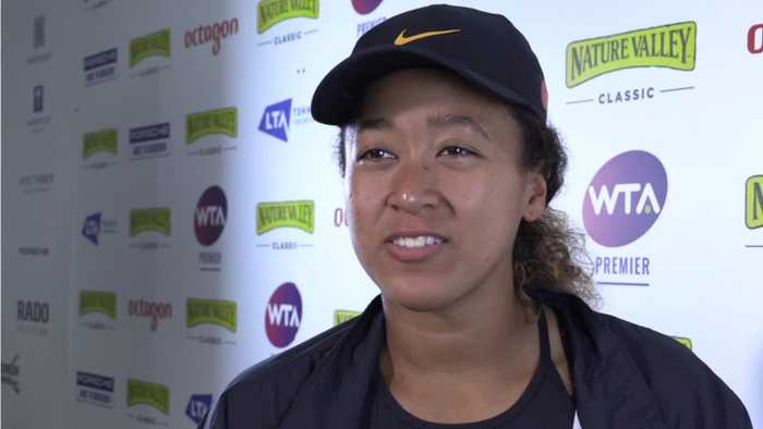 Naomi Osaka Nursing Knee Injury Days Before US Open