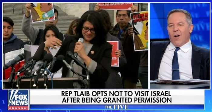 Greg Gutfeld: Rashida Tlaib's Israel 'stunt' used grandma as 'Trojan horse'