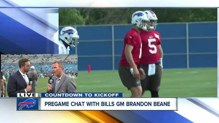 Matt Bove chats 1-on-1 with Bills GM Brandon Beane