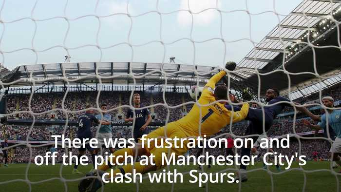Inconsistencies in VAR discussed by managers following Man City draw with Spurs