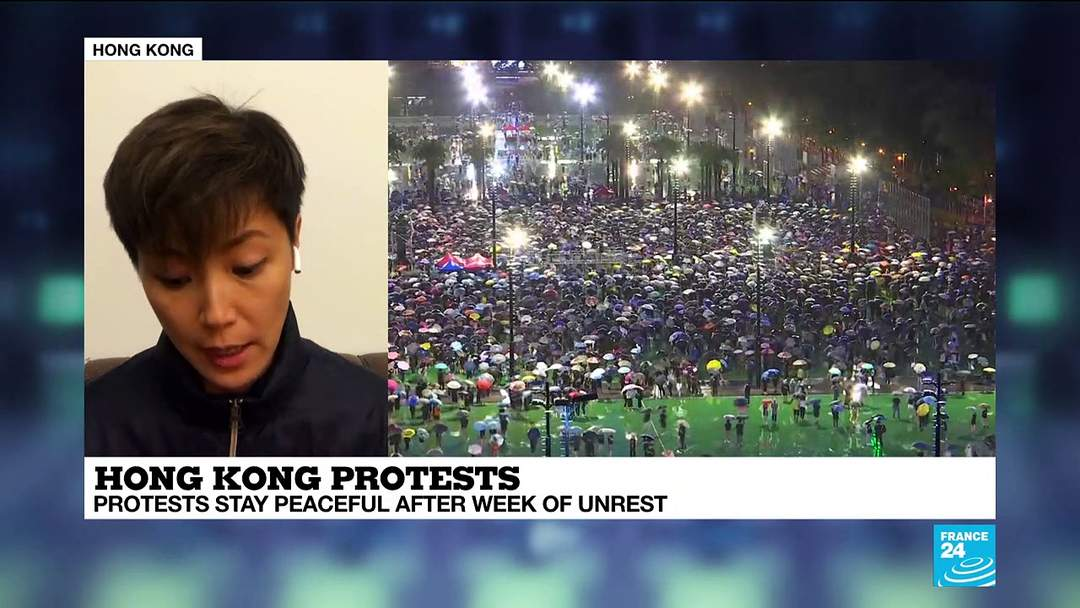 Pop-star Denise Ho: 'We are not divided'