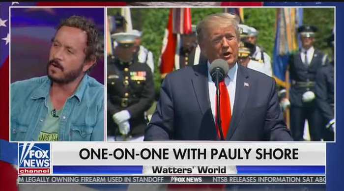Paul Shore talks Trump on Watters World