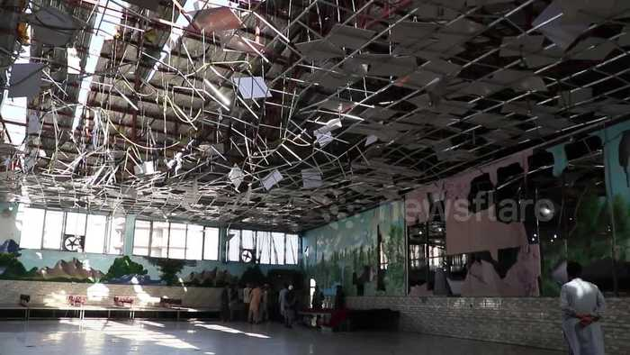 Kabul bomb-blast rips through wedding venue leaving devastation in its wake