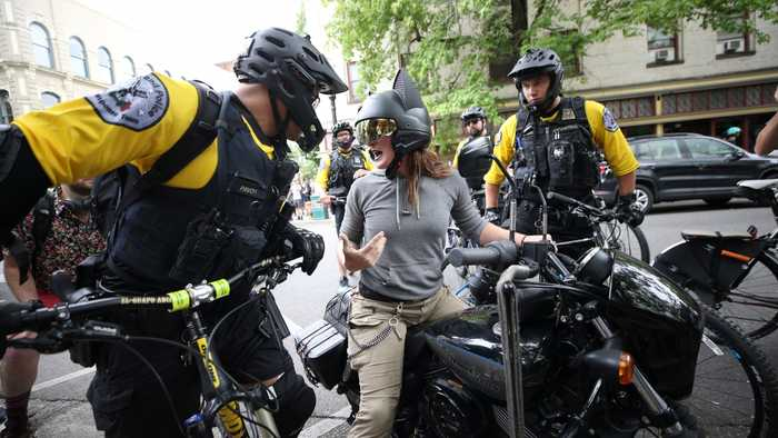 13 Arrested And 6 Injured After Protest In Portland