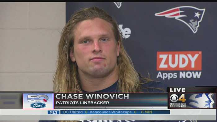 Chase Winovich: 'Just Sprinting And Trying To Hit Somebody Or Hit Something'