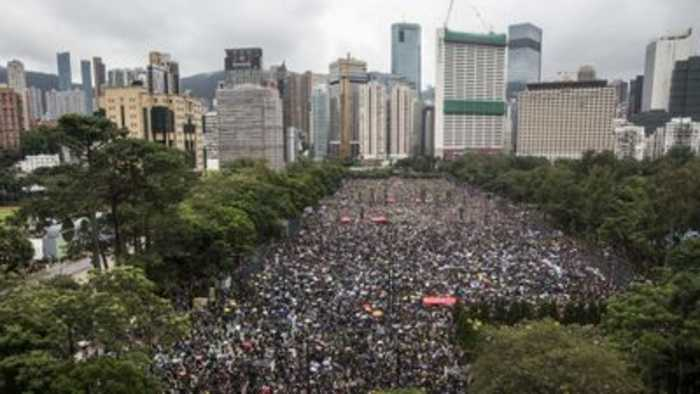 Large numbers of protectors expected in Hong Kong