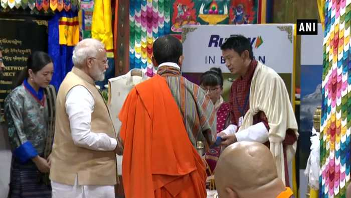 PM Modi launches RuPay Card in Bhutan
