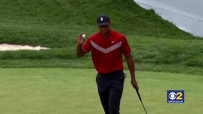 Tiger Woods Eliminated At BMW Championship